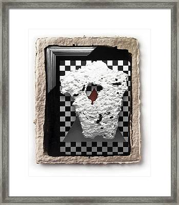 Broken Heart  Framed Print by Mauro Celotti