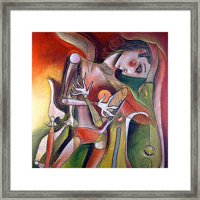 Broken Hearted Framed Print by Chris Bradley