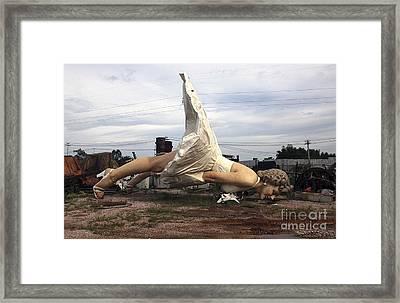 Broken Idol Framed Print by David Bearden