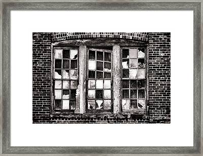 Broken Industrial Dreams Framed Print by Olivier Le Queinec