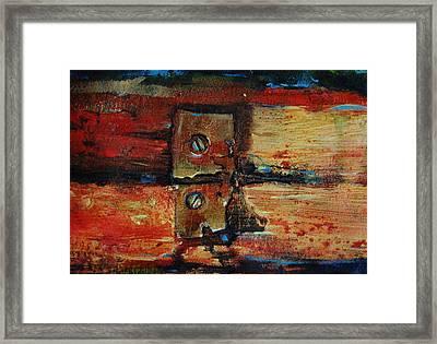Broken Framed Print by Jean Cormier
