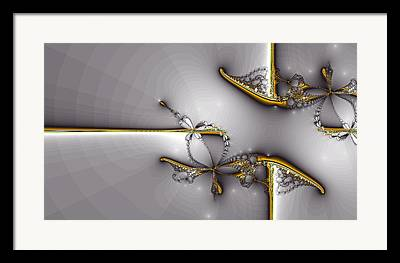 Jewelry Abstract Framed Prints