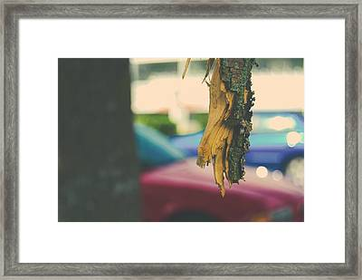 Broken Framed Print by John Rossman