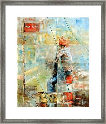 Broken Framed Print by Laurend Doumba