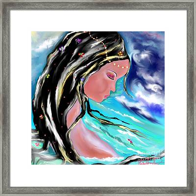 Broken Framed Print by Lori  Lovetere