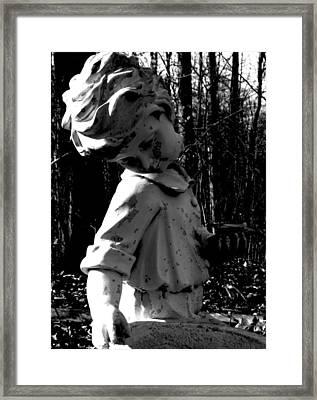 Broken Memorial Framed Print by Kristie  Bonnewell