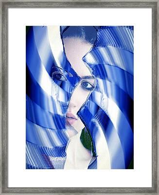 Broken Mirror Broken Dreams Framed Print