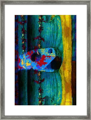Broken Music Framed Print by RC deWinter