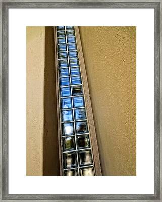 Broken One - Architectural Photography By Sharon Cummings Framed Print by Sharon Cummings