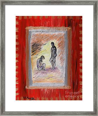 Broken Promises Framed Print by Loredana Messina