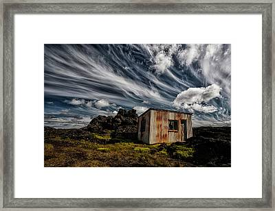 Broken Shack Framed Print