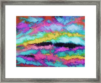 Broken Sky Framed Print by Keith Mills
