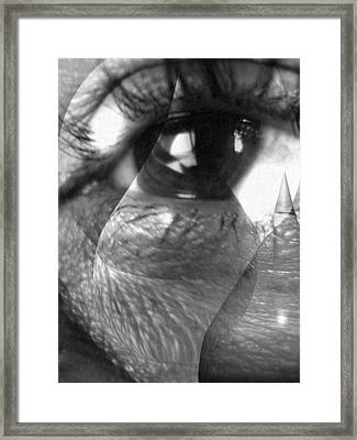 Broken Soul Framed Print