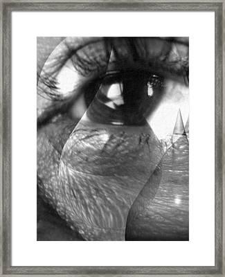 Broken Soul Framed Print by Beto Machado
