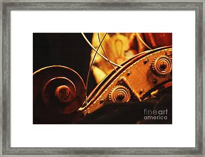 Broken Strings Framed Print