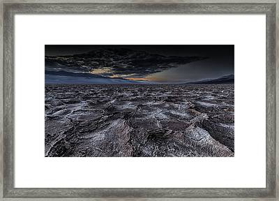 Broken Tales Framed Print
