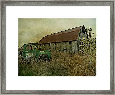 Broken Things To Mend  Framed Print by Dianne  Lacourciere