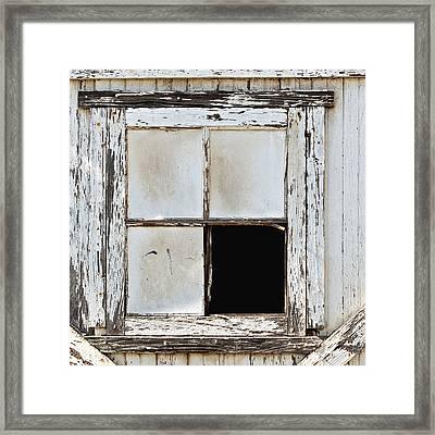 Broken Window Framed Print by Art Block Collections