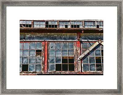 Broken Windows Framed Print by Paul Ward