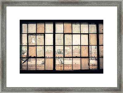 Broken Windows Framed Print