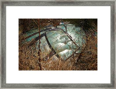 Broken Windscreens Framed Print
