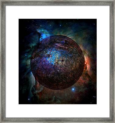 Broken World Framed Print