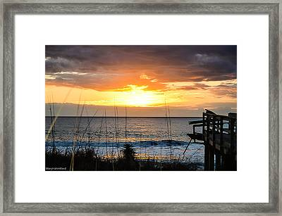 Brokenness And Beauty  Framed Print