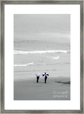 Brolly Holiday Framed Print by Terri Waters