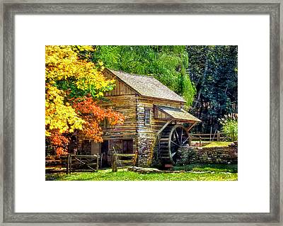 Bromley Mill At Cuttalossa Farm Framed Print