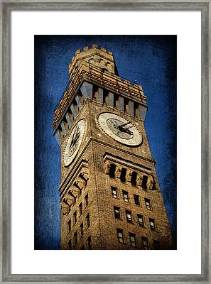 Bromo Seltzer Tower No 3 Framed Print