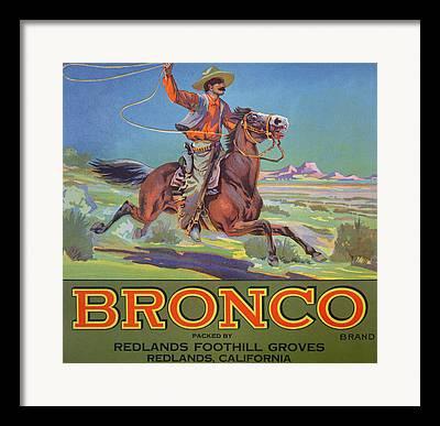 Horses Sale Framed Prints