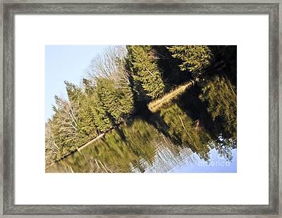 Bronson's Pond Framed Print