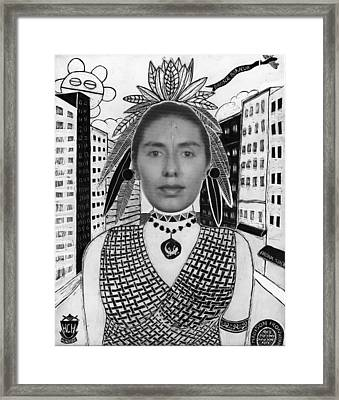 Bronx Boricua Framed Print by Aurora Levins Morales