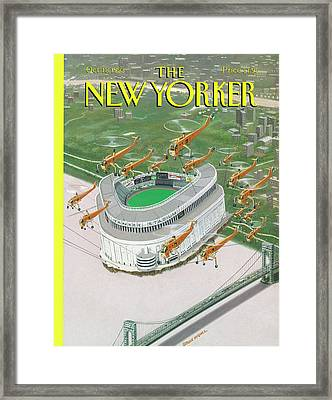 Bronx Cheer Framed Print
