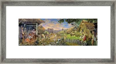 Bronze Age 2000bc Framed Print by Jan Patrik Krasny