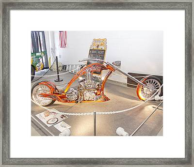 Bronze Beauty Framed Print
