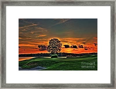 Bronze Number 4 Framed Print by Reid Callaway