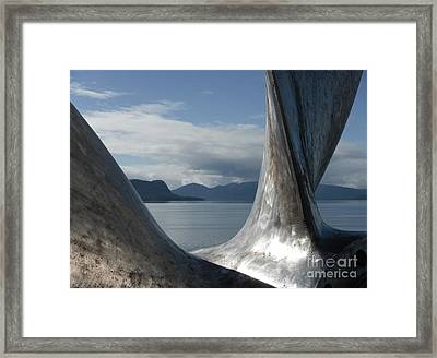 Bronze Prop Framed Print by Laura  Wong-Rose