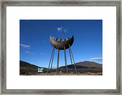 Bronze Sculpture Also Known As The St Framed Print by Panoramic Images