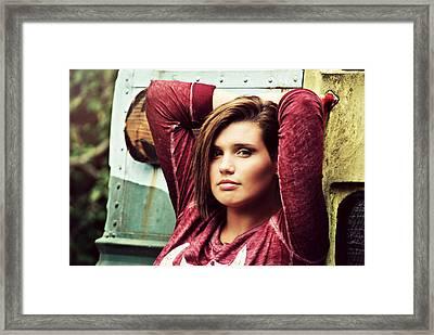Brooke Framed Print
