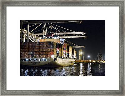 Brooklyn Bridge By Denise Dube Framed Print