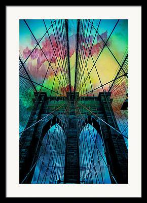 Intertwined Framed Prints