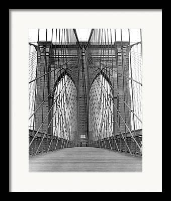 Diminishing Perspective Framed Prints