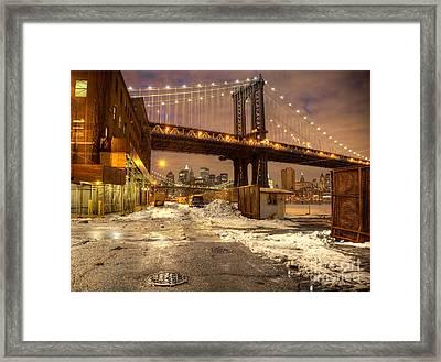 Brooklyn Framed Print by Denis Tangney Jr