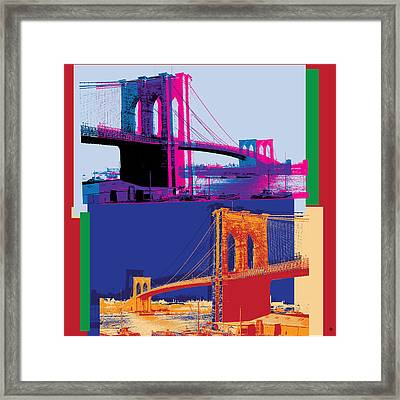 Brooklyn Double Framed Print by Gary Grayson