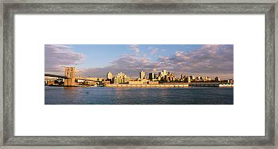 Brooklyn Heights, Nyc, New York City Framed Print by Panoramic Images
