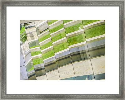 Brooklyn Museum Abstract Framed Print