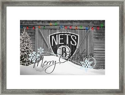 Brooklyn Nets Framed Print