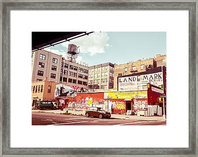 Brooklyn - New York City - Williamsburg Framed Print