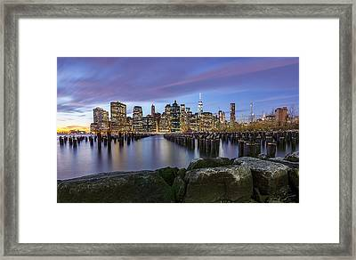 Brooklyn Park  Framed Print